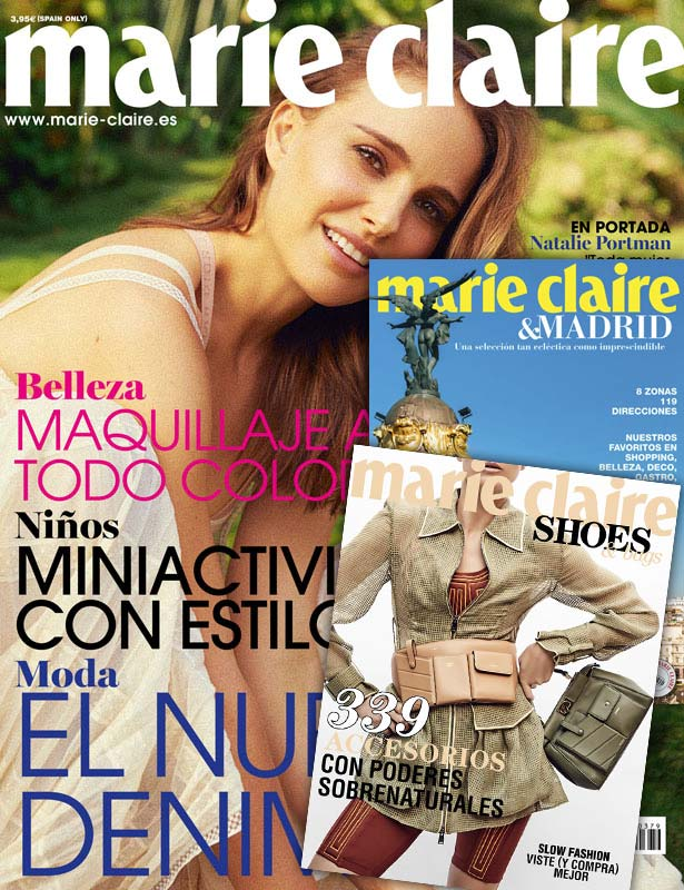 Marie Claire | Número 379 abril 2019 + Shoes & Bags 9 + Guía de Madrid